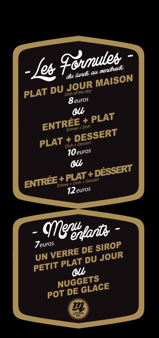Le Mojo Bar Brasserie carte part O2 Nantes centre ville rue mlarechal joffre
