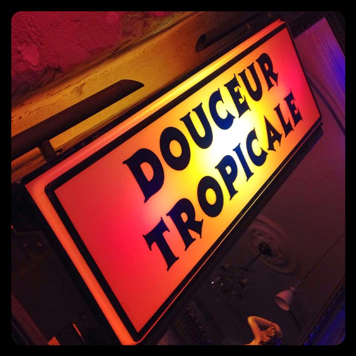 Le Mojo Douceur Tropicale Bar Brasserie Nantes centre rue Marechal Joffre